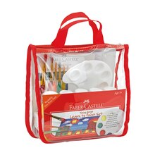 Faber-Castell Young Artist Learn to Paint Set In Package