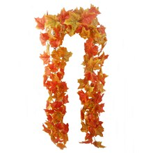 Maple Leaf Chain Garland By Ashland