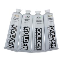 Golden Heavy Body Interference Acrylics 5oz. Interference Violet (Fine)