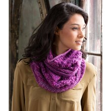 Red Heart® Boutique Unforgettable™ Adore This Lacy Knit Cowl, medium