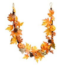 Maple Leaf Twig Garland By Ashland