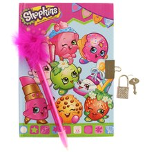 Shopkins Diary with Pen
