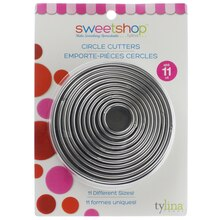 Sweetshop Circle Cutters In Package