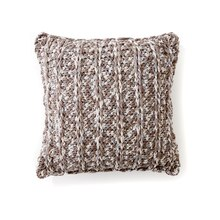 Bernat® Maker Home Dec™ Chain Texture Crochet Pillow, medium