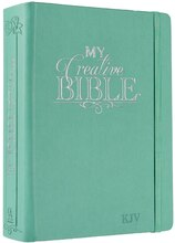 My Creative Bible KJV: Aqua Hardcover Bible for Creative Journaling