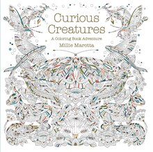 curious creatures a coloring book adventure - Michaels Coloring Books