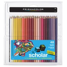 Prismacolor Scholar Colored Pencils, 48