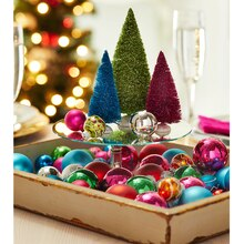 Elf Bright Miniature Ornament Christmas Tray, medium