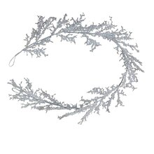 Glitter Ice Garland Coil By Ashland
