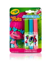 Crayola Pip-Squeaks DreamWorks Trolls Washable Markers, Princess Poppy