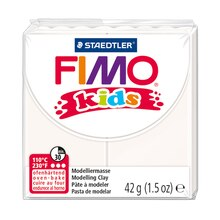 FIMO Kids Modelling Clay, White Pack