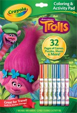 Crayola Coloring & Activity Pad, DreamWorks Trolls