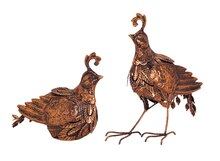 Quail, Set of 2