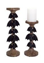 Bat Candle Holder, Set of 2