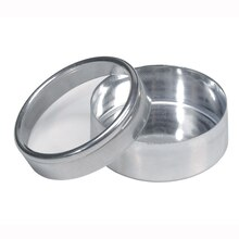 Victoria Lynn Round Aluminum Canisters, 12 Pack