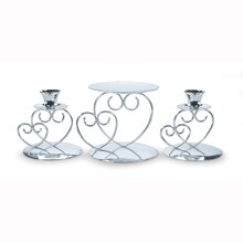 Victoria Lynn Silver Candle Holder