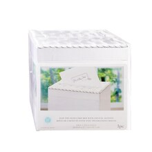 Victoria Lynn Wedding Gift Card Box with Crystal Accents