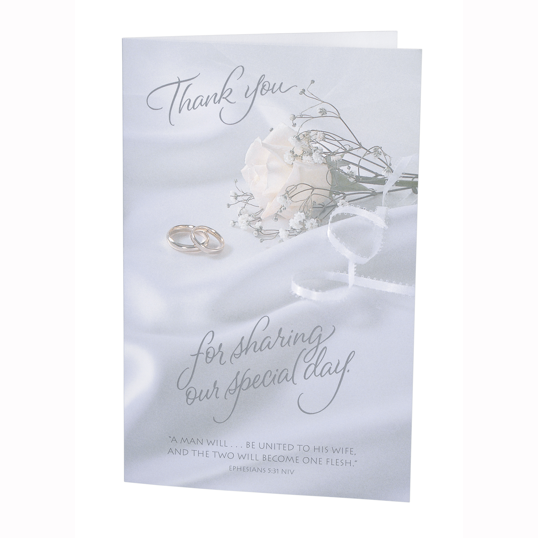 Victoria Lynn Wedding Programs, Thank You For Sharing Our Special Day