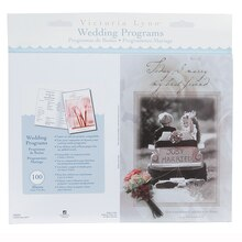 Victoria Lynn Wedding Programs, Little Girl & Boy Design