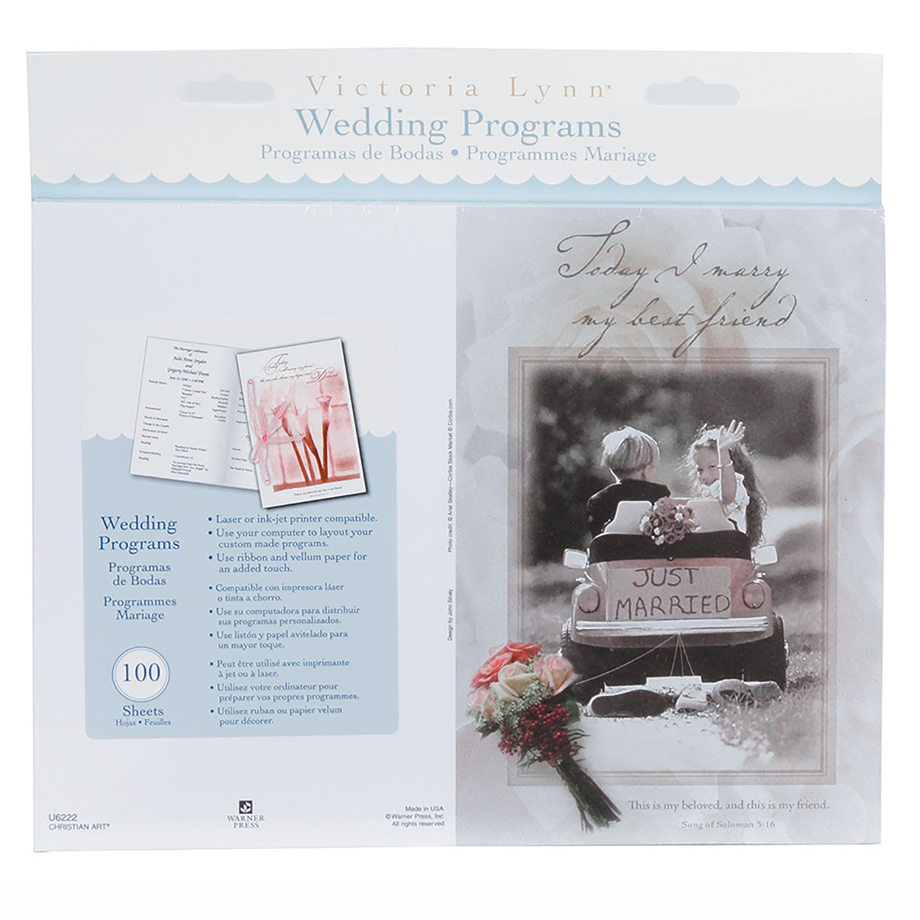 Victoria Lynn Wedding Programs, Little Girl U0026 Boy Design
