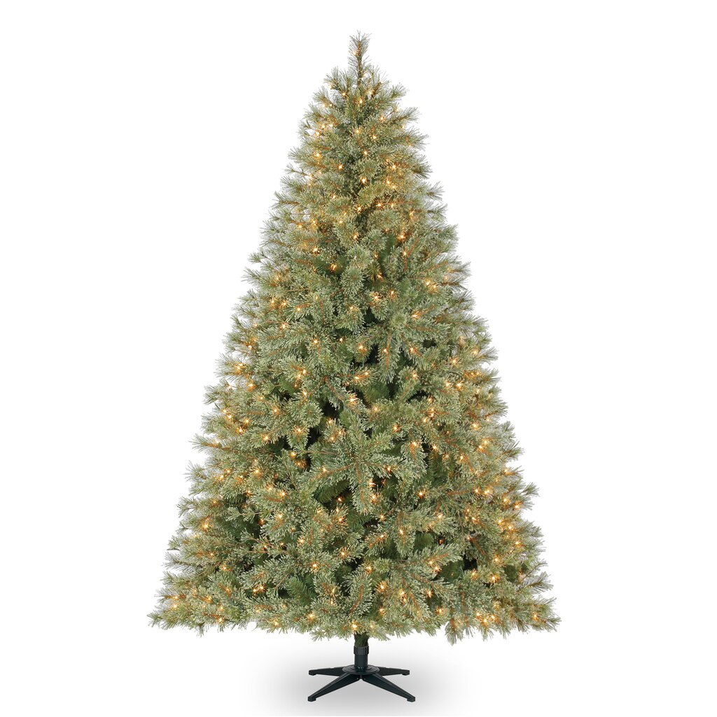75 ft pre lit jasper cashmere artificial christmas tree clear lights by ashland - Artificial Christmas Trees