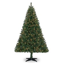 Pre-Lit 6 ft. Windham Spruce Tree by Celebrate It
