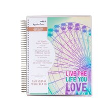 Creative Year Ferris Wheel 12-Month Spiral Planner By Recollections