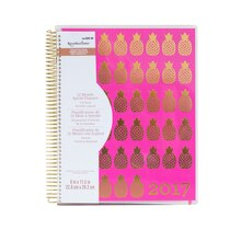 Creative Year Pink Pineapple 2017 Spiral Planner By Recollections