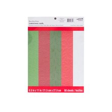 """8.5"""" x 11"""" Holiday Embossed Paper Pad by Recollections"""