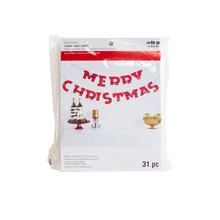 Santa's Belt Merry Christmas Banner By Recollections