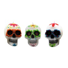 Large Skull Candles by Celebrate It