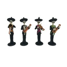 Day of the Dead Glitter Mariachi Men by Celebrate It
