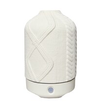 White Cable Ceramic Ultrasonic Diffuser By Ashland