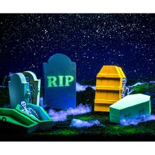 Krylon® Halloween Glowz® Graveyard, medium