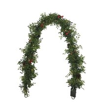 Boxwood Garland with Lights By Celebrate It