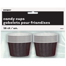 Black Paper Candy and Condiment Cups, 16ct