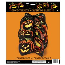 "Pumpkin Grin Halloween Centerpiece Decoration, 14"" Pack"