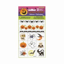 Halloween Tattoo Sheets, 2ct