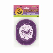 Plastic Spider Halloween Candy Dish, 2ct