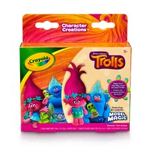 Crayola Model Magic Trolls Modeling Compound, Princess Poppy & Biggie