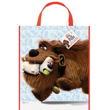 "13"" x 11"" Large Plastic Secret Life of Pets Favor Bags, 12c"