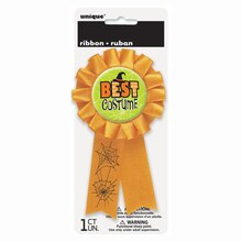 Best Costume Halloween Award Ribbon