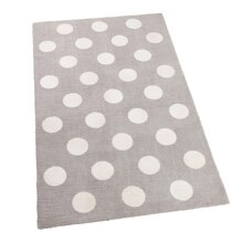 KidKraft 4' x 6' Rugs, Gray Dot