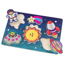 KidKraft Chunky Piece Outer Space Puzzle
