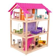 KidKraft So Chic Dollhouse with Furniture, medium