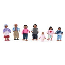 KidKraft Doll Family of 7, African American