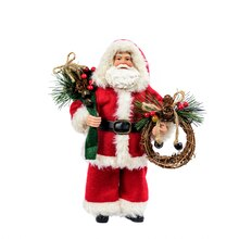 Classic Santa with Wreath By Celebrate It