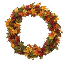 "36"" Autumn Blessings Artificial Thanksgiving Wreath"