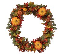 "36"" Fall Traditions Artificial Thanksgiving Wreath"