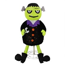 Lighted Creepy Standing Frankenstein Monster Halloween Decoration
